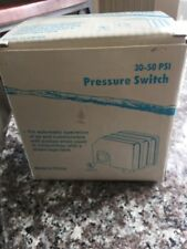 ProPlumber (74036) 30-50 PSI Plastic / Steel Pressure Switch With Manual