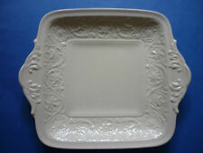 Wedgwood Cream Ware Patrician Cake Plate Bread & Butter Plate