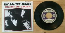 RARE SP THE ROLLING STONES HEART OF STONE 1st LABEL