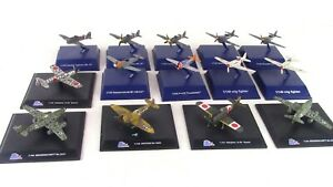 Lot-14 Die-cast and Plastic Model Planes by New Ray and 21st Century Toys.