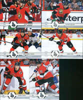 2019-20 Upper Deck Series 1 & 2 Ottawa Senators Veterans Team Set of 13 Cards