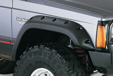 10911-07 Bushwacker Cut Out Fender Flares Jeep Cherokee XJ 4DR 1984-2001