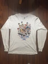 The Idolmaster 765 Pro Original Thirteen White Long Sleeve Anime Shirt Men Large