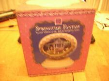2 VTG ENSCO MUSIC BOX DIORAMAS IN BOXES.  SPRINGTIME FANTASY  SUMMER BREEZE.
