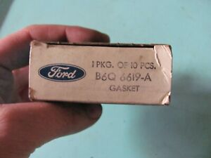 NOS Ford B6Q-6619-A Oil Pump Cover Plate O-Rings 1956-59 V8 272 312 292