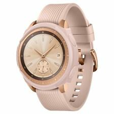 For Samsung Galaxy Smartwatch Case Liquid Armor Rose Gold Protective Frame Cover