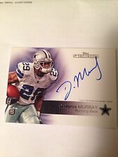 2011 Topps Precision DeMARCO MURRAY Autograph Rookie Card