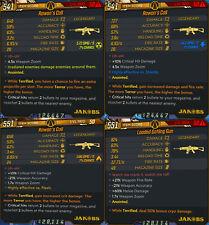 Borderlands 3 PS4 Roan's Call & Gatling Gun Terror Anointed Assault AR - 4 Items