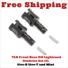 252005 - TLR F/R Diff Outdrive, Lightened, V2 (2): Losi 5B, 5T, MINI TLR252005