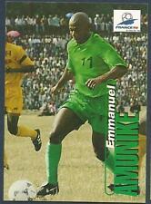 PANINI WORLD CUP 98- #041-NIGERIA & BARCELONA-EMMANUEL AMUNIKE