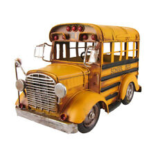 Vintage 1 24 Scale Model Short Yellow School Bus Vehicle Home Decor/driver Gift