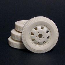 Jimmy Flintstone Resin Truck Wheels & Tires - Set Of 4 -  #JFW1