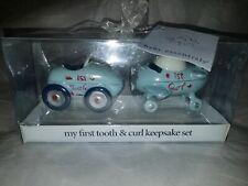 Little Racer First Tooth & Curl Baby Keepsake Set Baby Essentials Airplane & Car