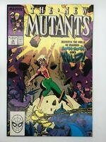 THE NEW MUTANTS #79 MARVEL 1989 COPPER AGE COMIC BOOK STRANGE!
