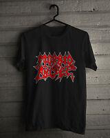 Morbid Angel T-Shirt, Red Logo Black Metal Tee, Size S,M,L,XL,2XL,3XL