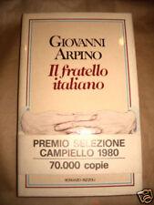 PROMOZIONE Il fratello italiano GIOVANNI ARPINO 1980