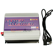 Plug and Play 600W GRID POWER MICRO GRID TIE INVERTER 22-60V DC FOR SOLAR Panel