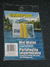 Camping Essentials Wet Wallet NEW Keep Dry Swim Boat Kayak Raft Canoe #MS18