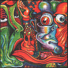 PSYCHEDELIC FACES BY DUSTIN GRAHAM  HIGH QUALITY BLOTTER ART