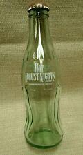 Coca-Cola Classic Hot August Nights Reno 8oz Commemoritive Bottle empty w cap