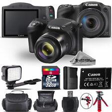 Canon PowerShot SX420 Digital Camera 20.0MP 42x Optical NFC / WiFi - 32GB Kit