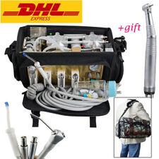 Outdoor Portable Dental turbine Unit Air Compressor Suction System 3W Syringe CE
