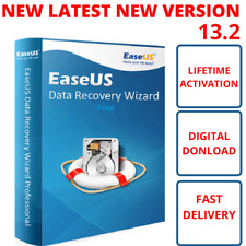 EaseUS Data Recovery Wizard v13.2✅Full Version Lifetime License✅Fast Delivery