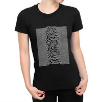 Joy Division Unknown Pleasures T-Shirt, Rock Band Tee, Women's All Sizes