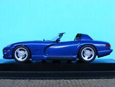 Dodge Viper Cabriolet VIO in blue from 1993  1:43 NLA