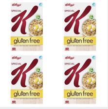 Kellogg's Special K Gluten Free Breakfast Cereal 330g X 4 lots