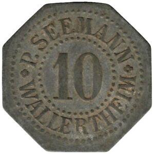 ALLEMAGNE - WALLERTHEIM - 10.1 - Monnaie de nécessité - 10 pfennig