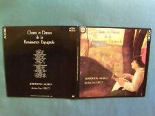 CHANTS DANSES RENAISSANCE ESPAGNOLE / AGRUPACION MUSICA ENZO GIECO LP ACC 140023