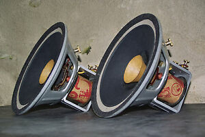 Atelier Rullit  - Silver LAB 8 field coil speakers for SE amps No. 79 + 80
