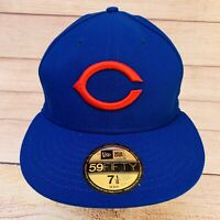 Chicago Cubs 1953 Turn Back The Clock New Era 59FIFTY On-Field Hat Cap Size 7