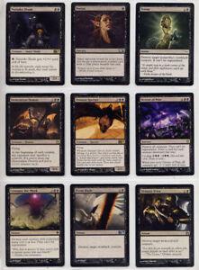MTG Deckbau Set Nr.3 : Schwarze Magic Karten, inkl. 5 Rares für Magic-Deck