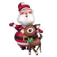 94cm Santa Reindeer Giant Airwalker Foil Balloon Christmas Party Decoration Gift