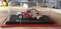 "DIE CAST 2 CV CITROEN "" CROSS DU CHAMPIONNAT DE FRANCE "" SCALA 1/43 AUTO PLUS"
