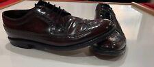 Vtg Florsheim Imperial Men��s 10 C Shell Cordovan Brogue Wingtip Wingtips Shoes