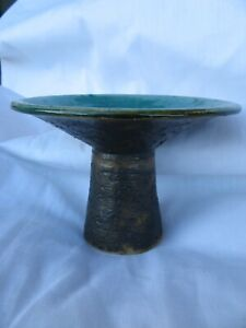 MID CENTURY 60s DUTCH ART POTTERY PIET GROENEVELDT STUDIOKERAMIK Candle Holder
