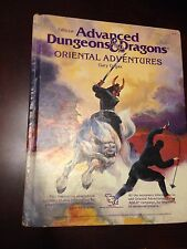Dungeons and Dragons Oriental Adventures rulebook 1985, role playing game