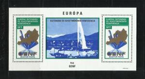HUNGRIA . Año: 1974. Tema: CONFª SOBRE SEGURIDAD Y COOPERACION EN EUROPA.