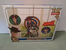 Toy Story 4 Disney Pixar Sun Catchers (3) NIB age 3+