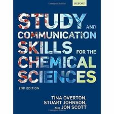 Study and Communication Skills for the Chemical Sciences, Scott, Jon, Johnson, S