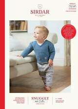 Sirdar Snuggly 100 Cotton Double Knitting Pattern 5268 Boys Car Jumper