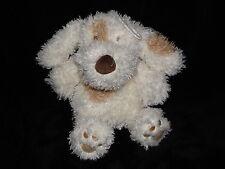 ASDA CREAM DOG SOFT TOY BROWN PATCH PUPPY COMFORTER DOUDOU GEORGE