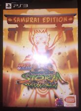 PS3 Naruto Shippuden Ultimate Ninja Storm Revolution Samurai/Collectors Edition