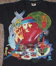 Vtg 1996 CARLOS SANTANA Concert Tour T Tee Shirt Hippie Large Free S&H
