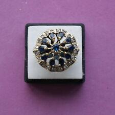 Topaz Graduation Round Fine Gemstone Rings