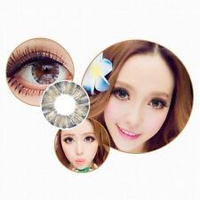 2 Flower Kontaktlinsen Contact Lenses farbig color Grau Fasching Party Makeup