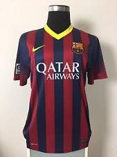 BNWT Barcelona Home Football Shirt Jersey 2013/14 (L)